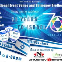 Israeli Independence Day Party National Event Venue Apr 19 Thu