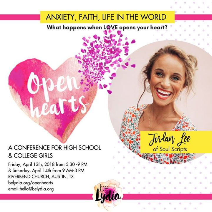 BeLydia Open Hearts Conference