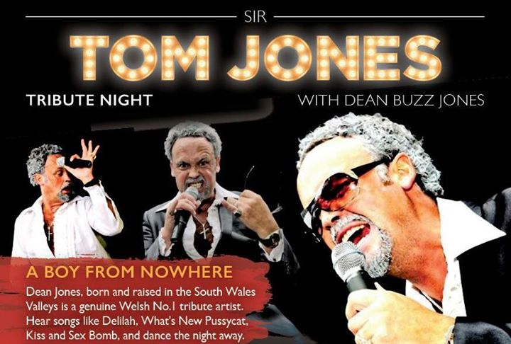 Sir Tom Jones Tribute Night at Ystrad Rhondda Rugby Club