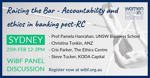 Raising the Bar- Accountability and ethic in banking post-RC