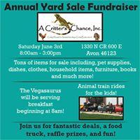 ACC Yard Sale Fundraiser