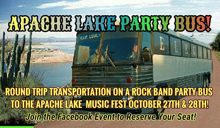 APACHE LAKE PARTY BUS