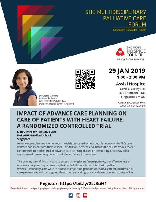 2019 Jan - Multidisciplinary Palliative Care Forum at Assisi