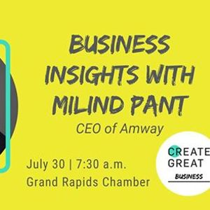 Business Insights with Milind Pant