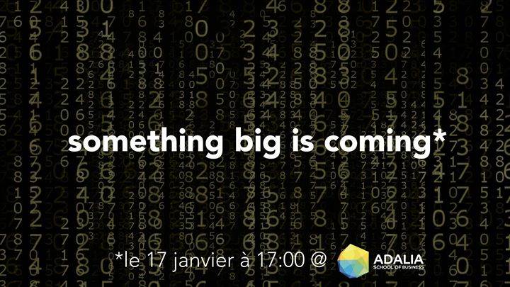Something Big is Coming (confrence de presse)
