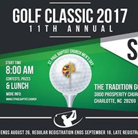 11th Annual Golf Classic - St. Paul Baptist Mens Day Event
