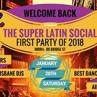 The Super Latin Social - First party for 2018 - January 20th
