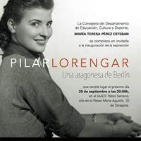 Exposicin en recuerdo de PILAR Lorengar