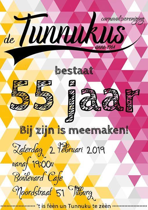 cv de tunnukus 55 Jaar | CV de Tunnukus at Boulevard Café TilburgNoordstraat 51