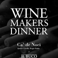 Ca de Noci Winemakers Dinner