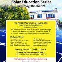 Rancho Penasquitos Solar Experience