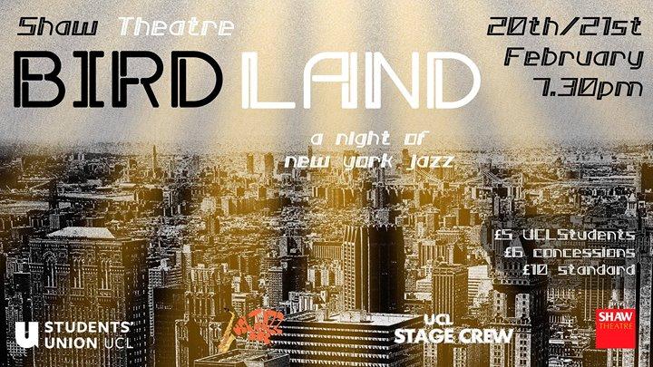 Comedy Club goes to Birdland