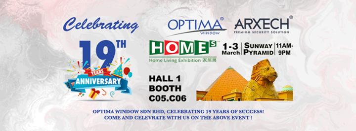 Optima Window Homes Home Living Exhibition At Sunway Pyramid