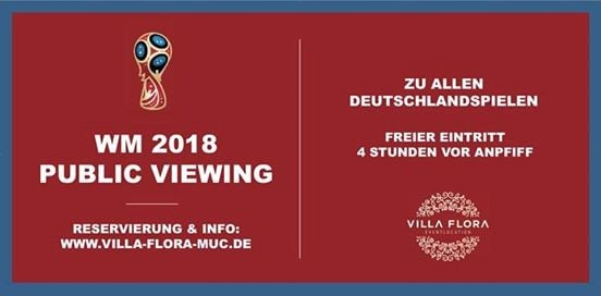 Public Viewing  Deutschland - Mexiko