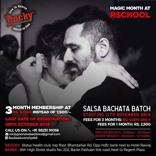 New Batches - November Magic Month Offer