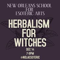 Herbalism For Witches