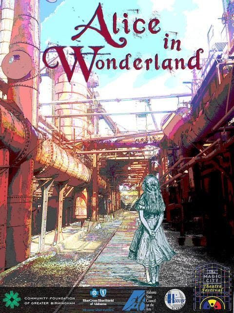 Alice in Wonderland at Sloss Furnace