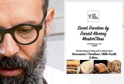 MasterClass Daniel Alvarez  European Pastry Specialties