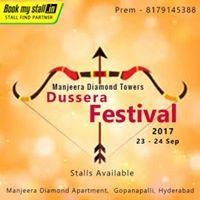Manjeera Diamond Towers Dussera Festival 2017
