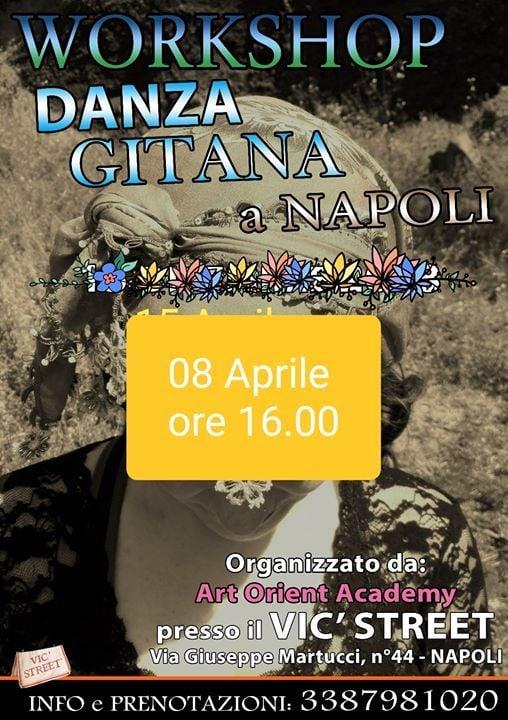 Workshop di Danza Gitana