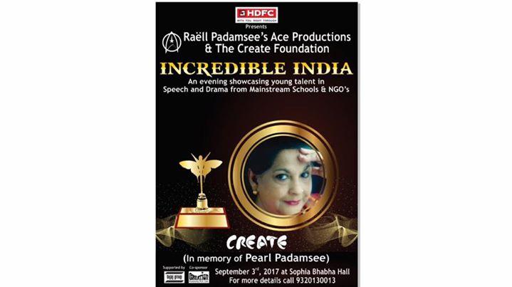 Create and Pearl Padamsee Trophy