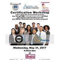 Certification Workshop
