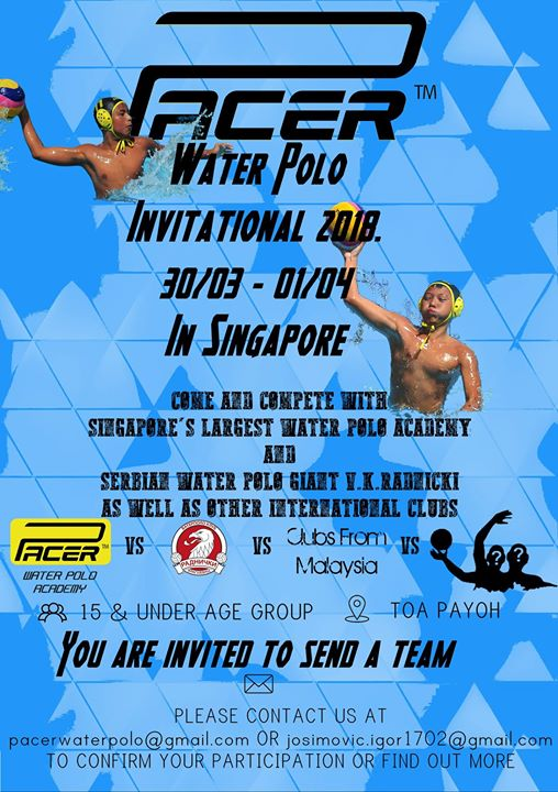 Pacer Water Polo U15 Invitational 2018