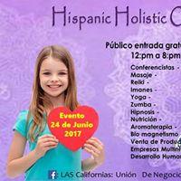 Hispanic Organization of San Diego Holistic Events