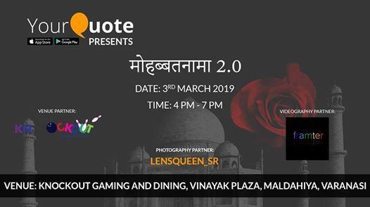 YourQuote Mohabbatnama Varanasi 2.0