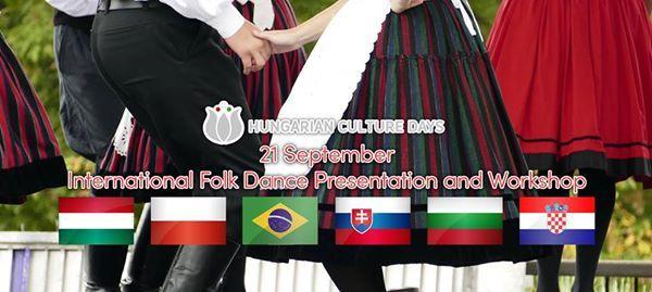 International Folk Dance Presentation and Workshop