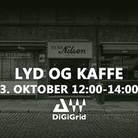 Lyd og kaffe - WavesDigigrid for live lyd