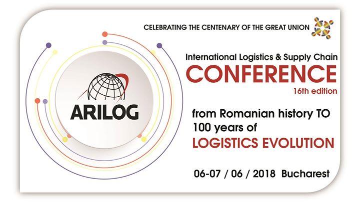 Arilog Conference Logistics & Supply Chain 16th edition