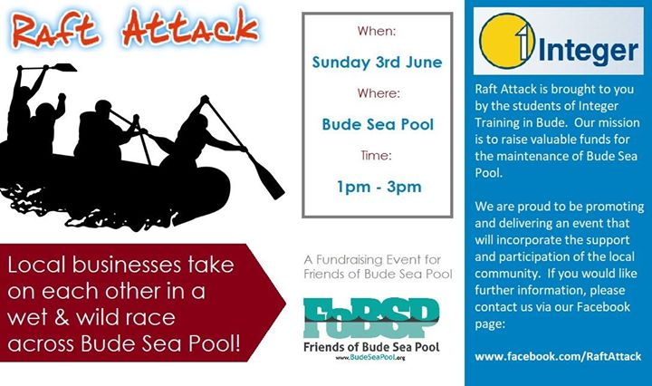 Bude Raft Race 2018 - Raft Attack