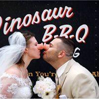 Dinosaur BBQ at Syracuse Wedding Bridal Show