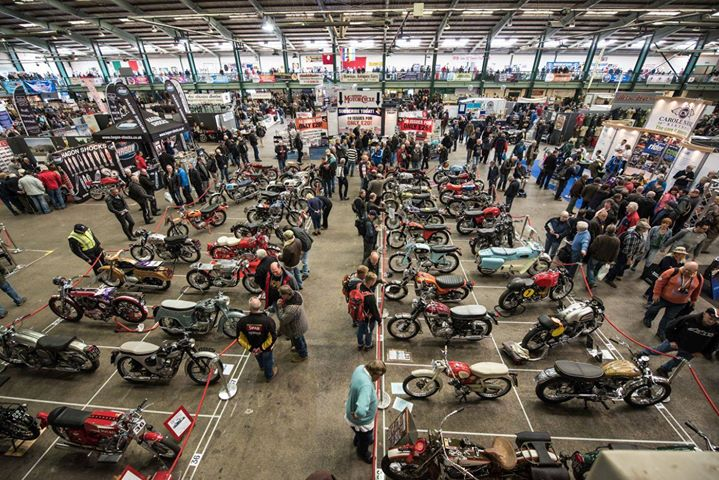 The Carole Nash International Classic MotorCycle Show