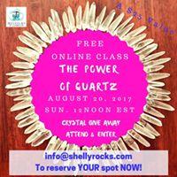 Free Online Class - The Power of Quartz