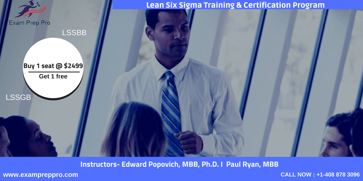 Lean Six Sigma Green Belt(LSSGB)- 4 days Classroom Training In Los Angeles CA