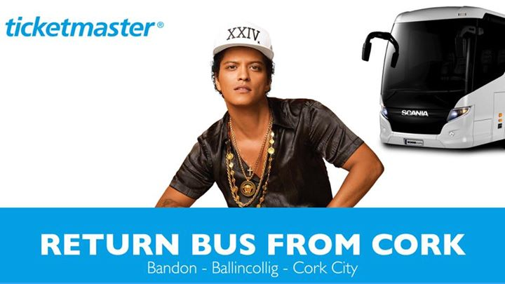 Bruno Mars (Return Bus From Cork)