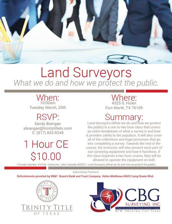 Land Surveyors Explained