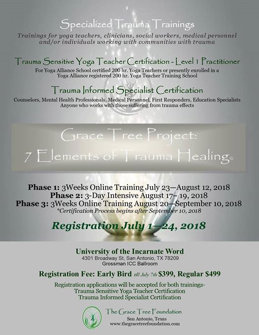 Grace Tree Project: 7 Elements of Trauma Healing Certification at ...