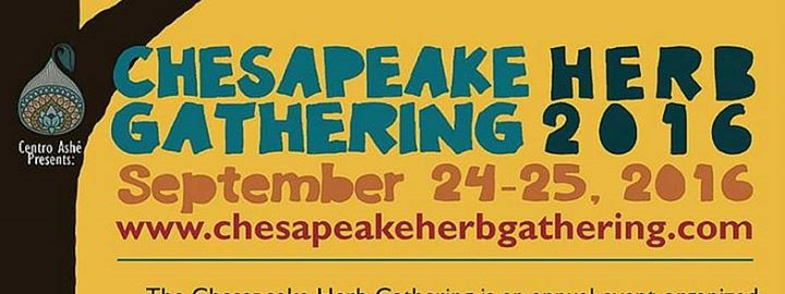 logo for Chesapeake Herb Gathering
