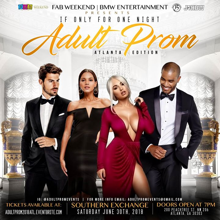 IF Only For One Night 2018 Adult Prom ATL Edition