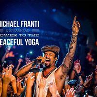 Michael Franti &amp Spearhead Pre-Concert Yoga