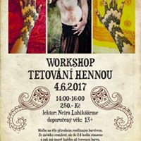 Workshop tetovn hennou