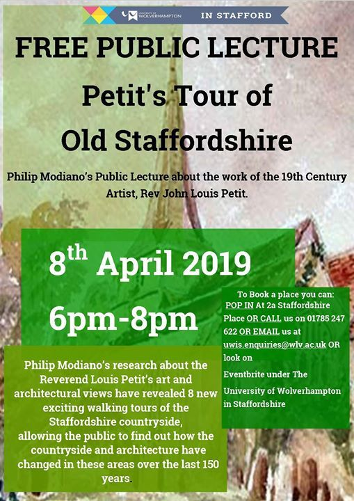 Petits Tour of Old Staffordshire - Public Lecture