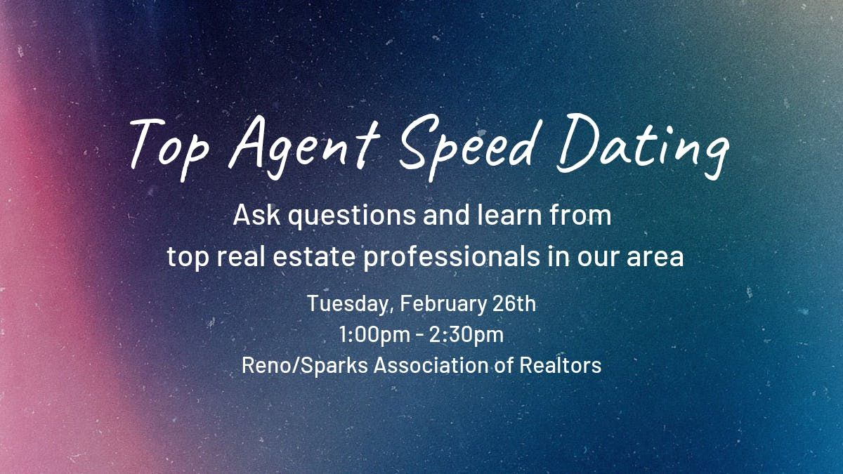 Speed dating događaji reno