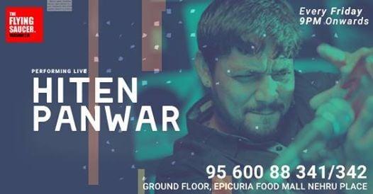 Hiten Panwar Performing LIVE