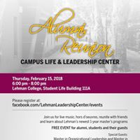 Alumni Reunion - Campus Life and Leadership Center