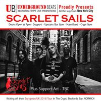 Underground Beats Proudly Presents Scarlet Sails (NYC)