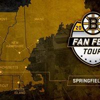 Bruins Fan Fest Tour - Springfield MA